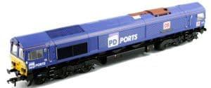 Bachmann / Rainbow Class 66 '66109 'Teesport Express' PD Ports / DB Schenker