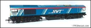 Bachmann / Rainbow Railways Class 66 66747 'Made in Sheffield' GBRf / NWT - PRO Respray