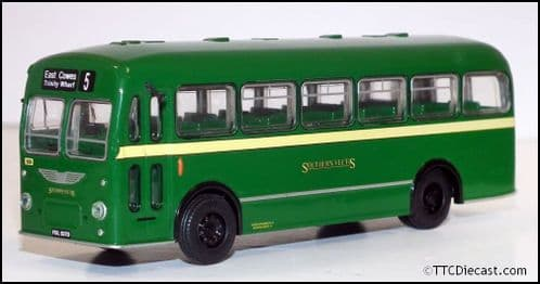 BASE TOYS B210a Bristol MW6G - Southern Vectis - 5 East Cowes - 1/76 Scale, OO Gauge.