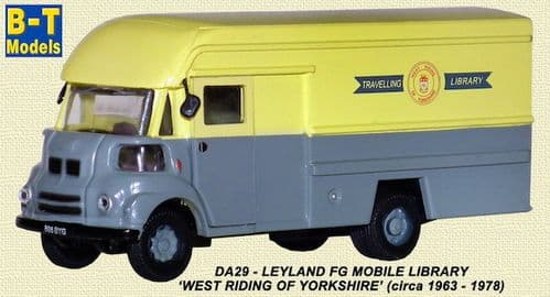 BASE TOYS DA29 Leyland FG Mobile Library - West Riding Libraries *LAST ONE*