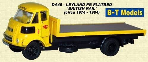 BASE TOYS DA45 Leyland FG Flatbed - British Rail