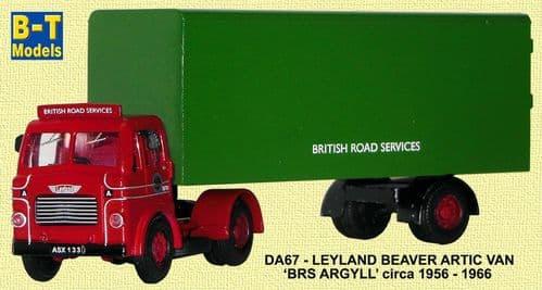 BASE TOYS DA67 Ley Beaver Artic Van - BRS Argyll *LAST ONE*