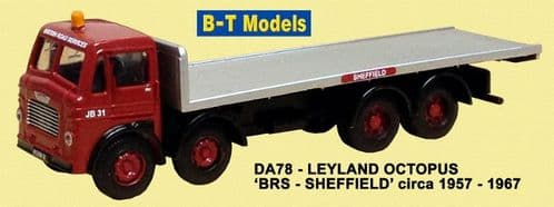 BASE TOYS DA78 Leyland Octopus - BRS-Sheffield