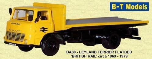 BASE TOYS DA80 Ley Terrier Flatbed - British Rail