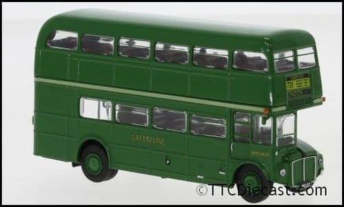 Brekina 61101 AEC Routemaster Bus Green Line 1960, Route 721 LONDON, 1/87 Scale