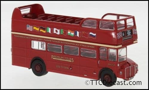 Brekina 61102 AEC Routemaster Opentop Premium Tours 1960 Ep. III, 1/87 Scale