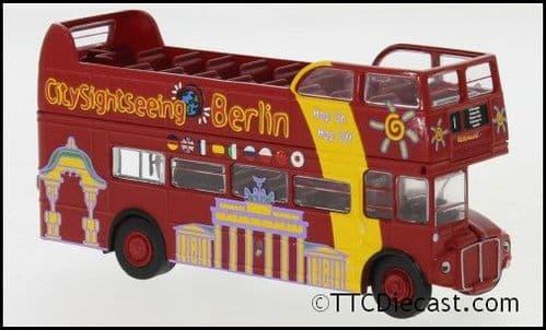 Brekina 61104 AEC Routemaster Opentop City Sightseeing Berlin 1960 Ep. V, 1/87 Scale