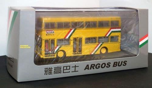 BRITBUS CB16 - Metropolitan Scania Argos Bus, Yellow