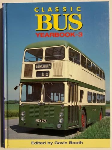 Classic bus yearbook 3 - Gavin Booth 1997 - Contents shown in pictures