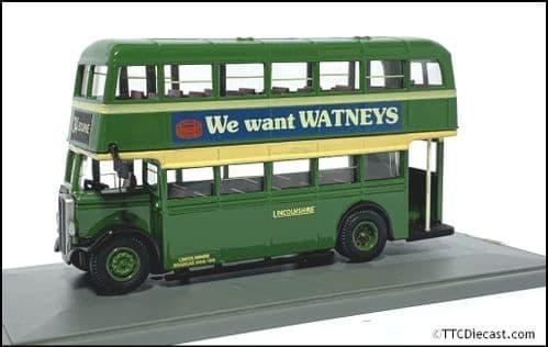 CODE 3 / 4 Corgi Utility Bus - Lincolnshire - 1908 GW6290 - 34 BOURNE  *PRE OWNED*