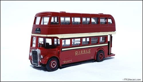 CODE 3 / 4 EFE Leyland PD1 - Ribble Motor Services - 2776 CRN869 - 9 CLITHEROE *PRE OWNED *