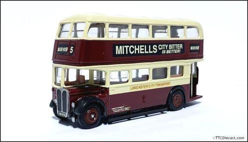 CODE 3 / 4 EFE Leyland PD2 (RT) - Lancaster City Transport - 128 128DTD - 5 MOOR HOSP. *PRE OWNED *