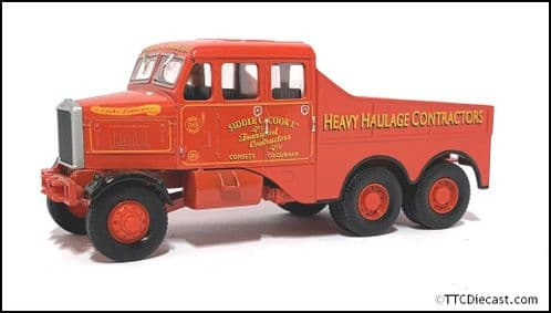 CORGI 17501 - Scammell Construction - SIDDLE COOK  - 1/50 Scale * PRE OWNED *