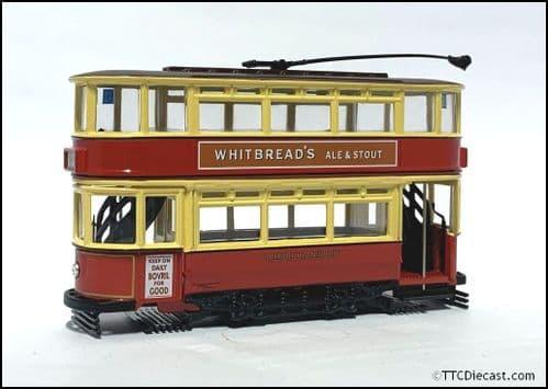 CORGI 36708 Double Deck Tram, London Transport , 1/72 Scale *PRE OWNED*