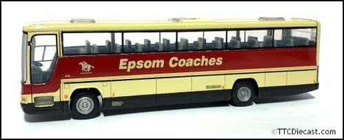 CORGI 43307 Dennis Javelin 12SDA / Plaxton Premiere Epsom Coaches - PRE OWNED
