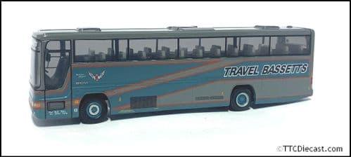CORGI 43311 Volvo B10M-62 / Plaxton Premiere Travel Bassetts - PRE OWNED