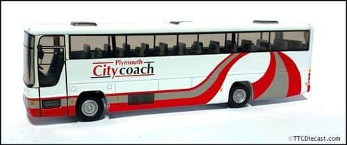 CORGI 43313 Volvo B10M-62 / Plaxton Premiere Plymouth Citycoach - PRE OWNED