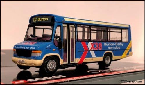 CORGI 43406 Mercedes Vario 0814D / Plaxton Beaver 2 Trent Buses - PRE OWNED