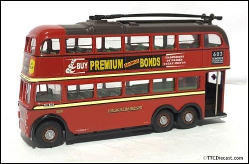 CORGI 43708 BUT 9641T / Metro Cammell Q1 Trolleybus London Transport - PRE OWNED