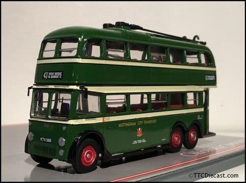 CORGI 43713 BUT 9641T / Brush Trolleybus Nottingham City Transport - PRE OWNED