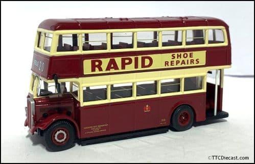 CORGI 43904 AEC Regent II / Park Royal Utility Leicester City Transport - PRE OWNED