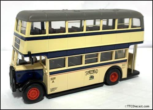 CORGI 43909 Daimler CWA6 / Duple Utility Sheffield Transport - PRE OWNED