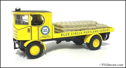 CORGI 80005 Sentinal Patform Wagon c/w Cement bags - Blue Circle Cement - 1/50 Scale * PRE OWNED *