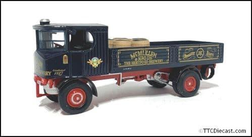 CORGI 80006 Sentinal DG4 Steam Wagon c/w Barrels  - McMullen Brewery - 1/50 Scale * PRE OWNED *