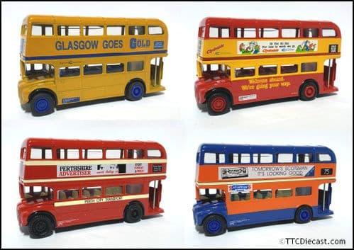 CORGI 97066 Routemasters in exile - Scotland - Clydeside / Kelvin / Strathtey / Perth City