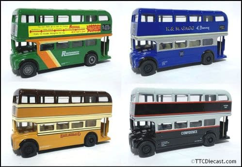CORGI 97067 Routemasters in exile - The Midlands - East Midlands/Confidence/Gaggs/Utd Counties