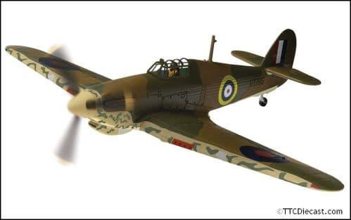 CORGI AA27604 Hawker Hurricane Mk.I, V7795 Plt. Off W Vale, RAF No.80 Squadron, Maleme