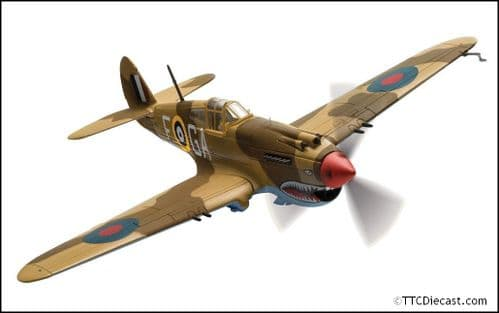 CORGI AA28103 Curtiss Tomahawk Mk.IIB - AK402 P/O Neville Duke- RAF No.122 Squadron- Fort Maddelena