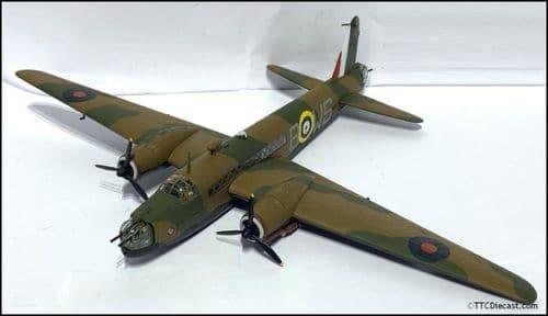 CORGI AA34801 Vickers Wellington MK 1a - N2873 9 Squadron - RAF Honnington 1:72 * PRE OWNED *