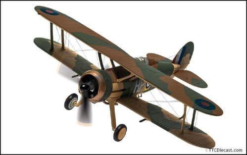 CORGI AA36212 Gloster Gladiator Mk.II N2308 HP-B, RAF No.247 Squadron, 1/72 Scale