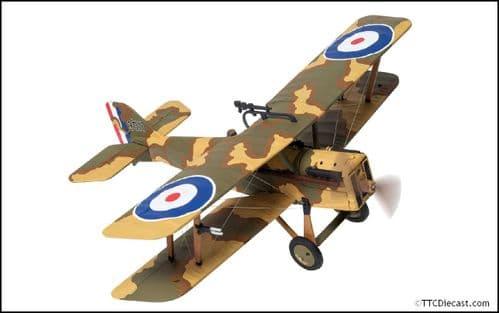 CORGI AA37709 SE5a D3511, Major R. S Dallas, CO RAF No.40 Squadron, Bruay Aerodro