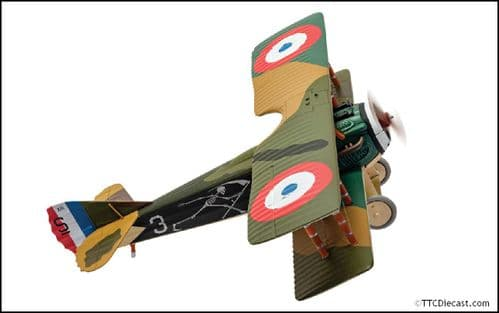 CORGI AA37909 Spad XIII White 3, Pierre Marinovitch, Escadrille Spa 94 The Reapers