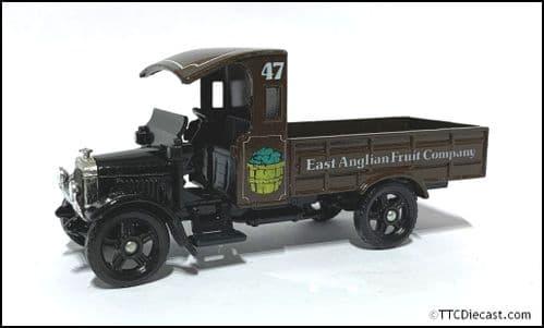 CORGI C820 - Thornycroft Model Van Truck - East Anglian Fruit Company - 1:43 Scale ?  *PRE OWNED*
