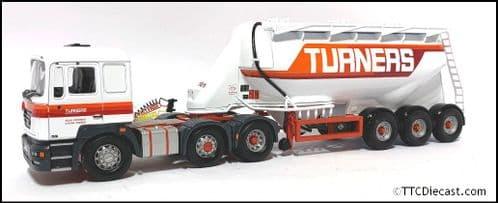 CORGI CC12707 - ERF ECS Feldbinder Tanker - Turners of Soham Ltd - *PRE OWNED*