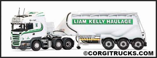 CORGI CC13767 Scania R Feldbinder Tanker, Liam Kelly Haulage