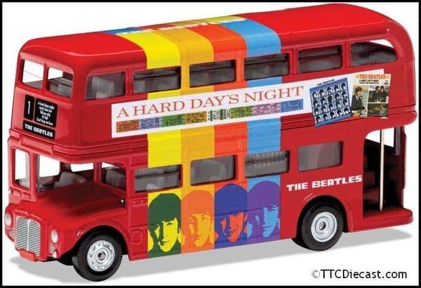 CORGI CC82334 - The Beatles - London Bus - 'A Hard Day's Night'