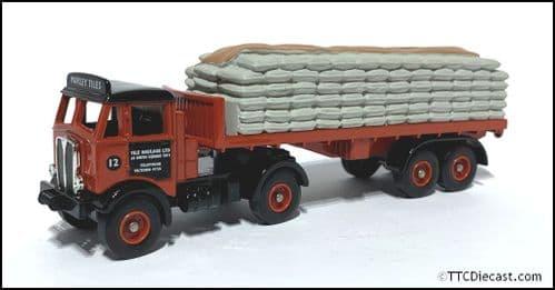 CORGI LLEDO Trackside DG149002 - AEC Mammoth Flatbed Trailer - Marley Tiles 1/76 Scale * PRE OWNED *