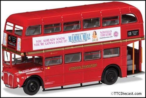 CORGI OM46316A AEC Type RM, London Transport ,Route 15 Tower Hill, 'Mamma Mia!