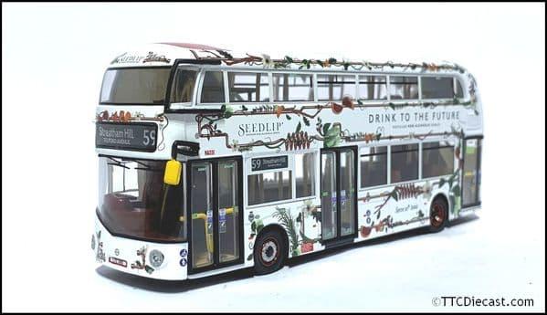 CORGI OM46631b - NBFL Borismaster - Arriva - Rte 59 Streatham Hill - Seedlip