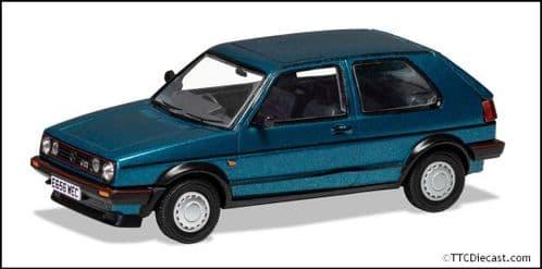 CORGI Vanguard VA13606 VW Golf Mk2 GTI 16V - Monza Blue - 1/43 Scale