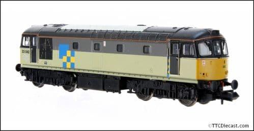 DAPOL 2D-001-007 Class 33/0 33042 Triple grey construction sector - N Gauge