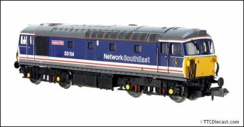 "DAPOL 2D-001-022 Class 33/1 33114 ""Ashford 150"" Network South East  - N Gauge"