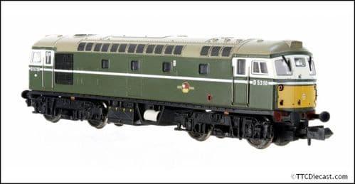 DAPOL 2D-028-002 Class 26 D5310 BR Green SYP (Preserved) - N Gauge
