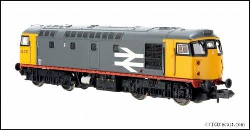 DAPOL 2D-028-004 Class 26 26037 BR Railfreight Grey - N Gauge