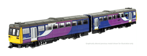 Dapol 2D-142-001D Class 142 Northern Rail (Debranded) 142096 DCC Fitted * PRE ORDER £152.96 *