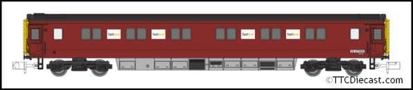 DAPOL 2P-006-008 Mk 3 Sleeper Serco Departmental DB 977989, N Gauge